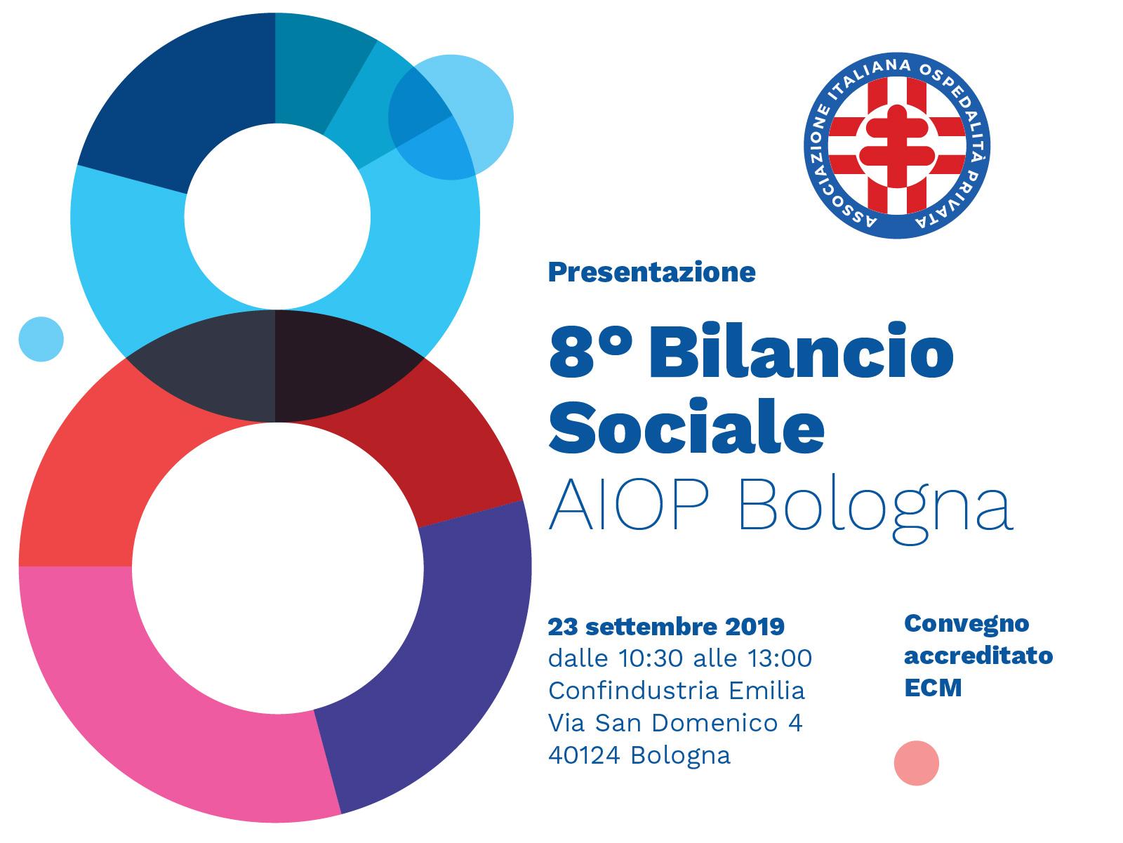 La sanità come motore di sviluppo: AIOP Bologna presenta l'8° Bilancio Sociale.