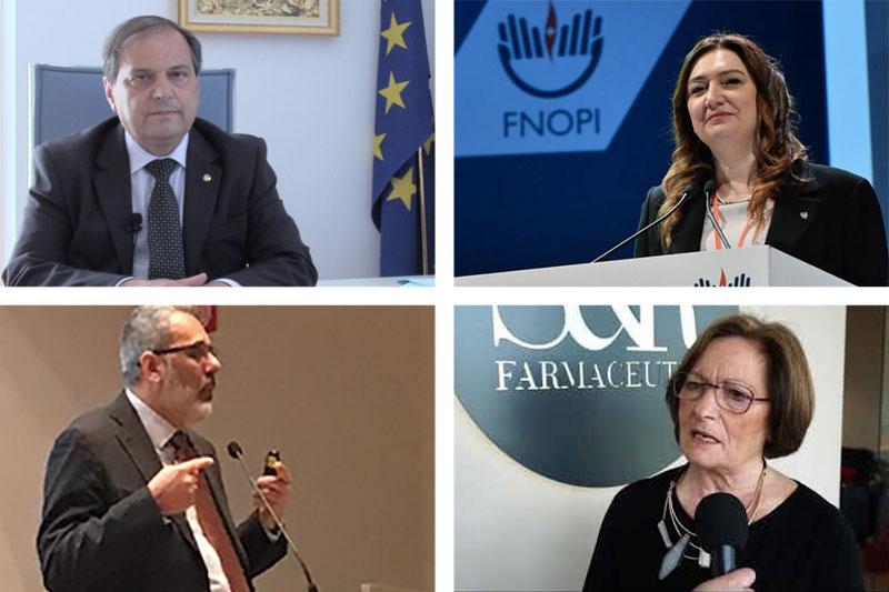 I presidenti e i comitati centrali delle Federazioni delle Professioni della Salute premiati a Ravenna per le loro campagna a favore del corretto utilizzo dei social-network e contro la fakenews.