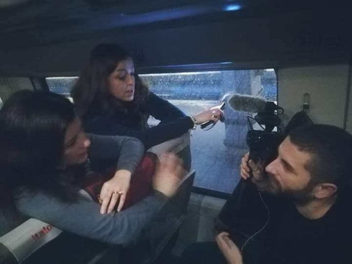 La troupe di Nurse24.it in viaggio a Roma per realizzare un video per il movimento politico Noi Siamo Pronti, creato dal presidente OPI Bologna.