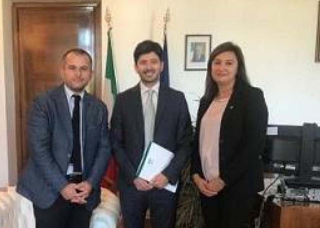 Infermieri incontrano il Ministro Roberto Speranza.