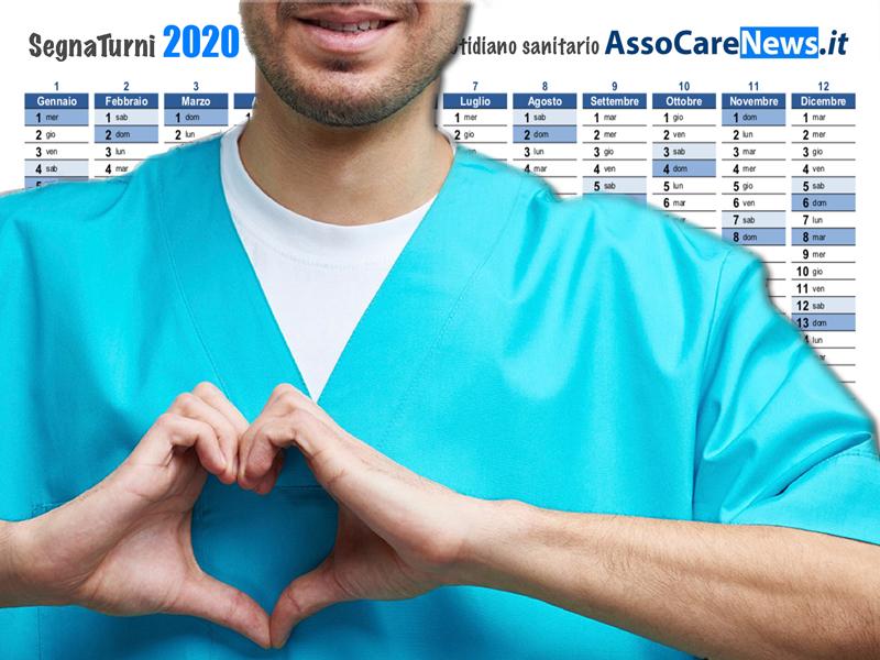 Infermieri, Medici, Oss, Professionisti Sanitari: ecco il SegnaTurni 2020.