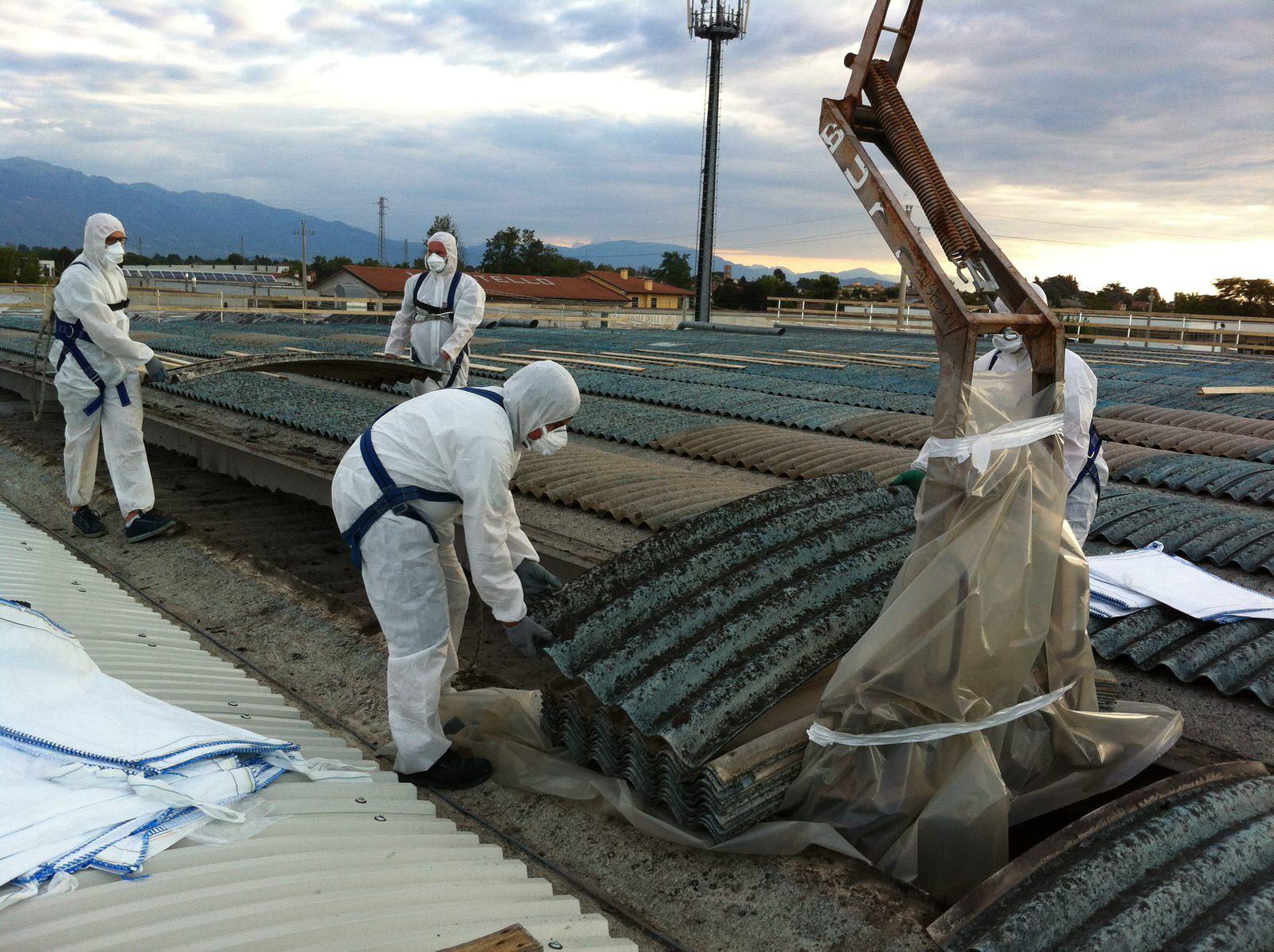 Amianto: in Italia 6mila morti l'anno!