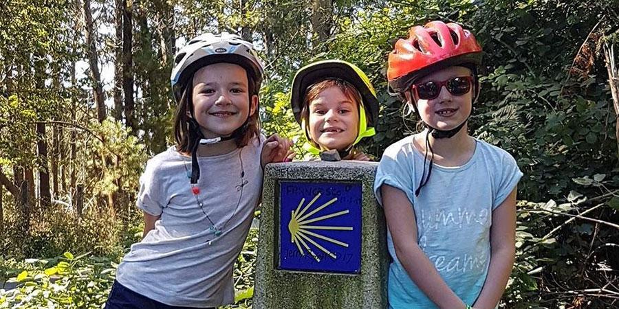 Infermieri e bambini malati di cancro sul Cammino di Santiago!