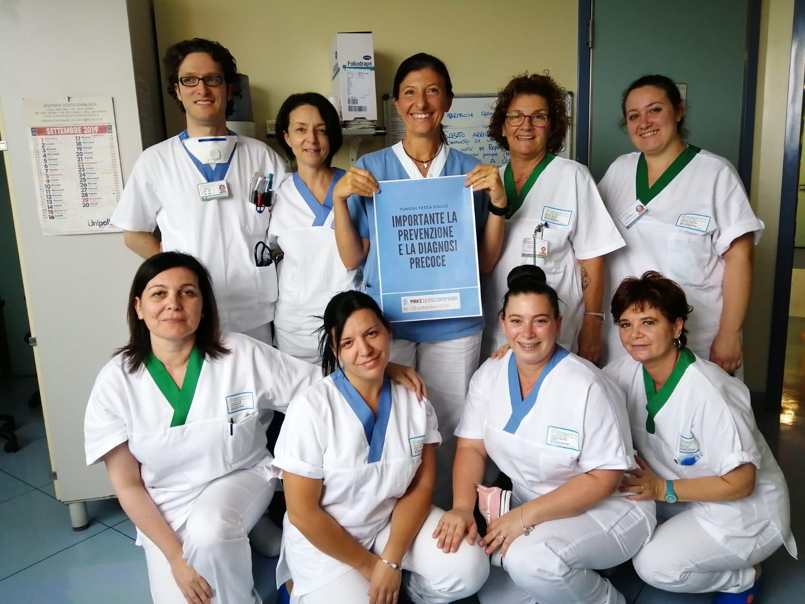 Parma, Infermieri e OSS informano i cittadini sui tumori testa-collo!