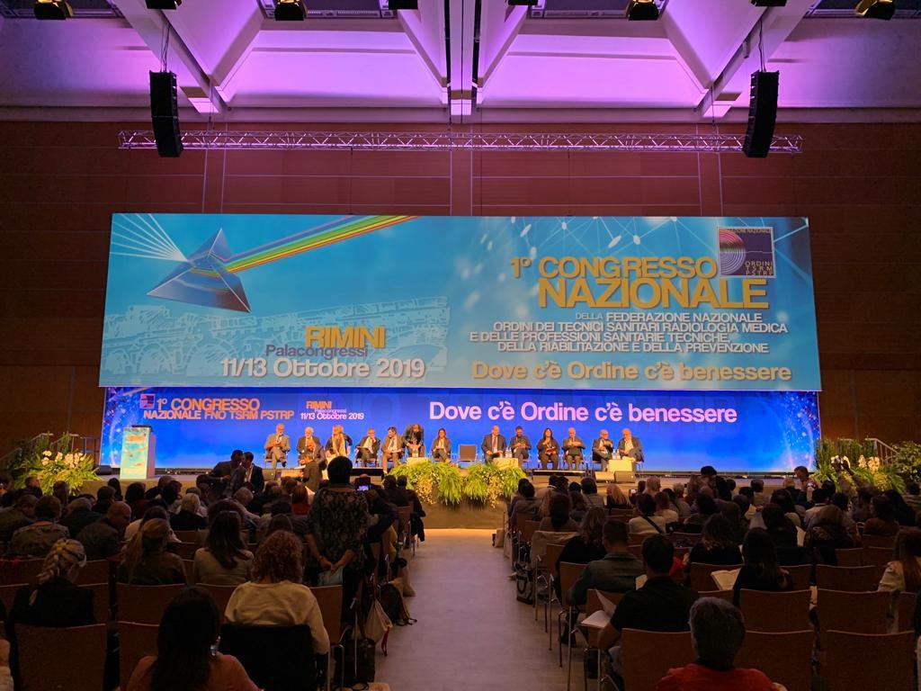 Se n'è discusso al primo congresso della FNO TSRM PSTRP in quel di Rimini.