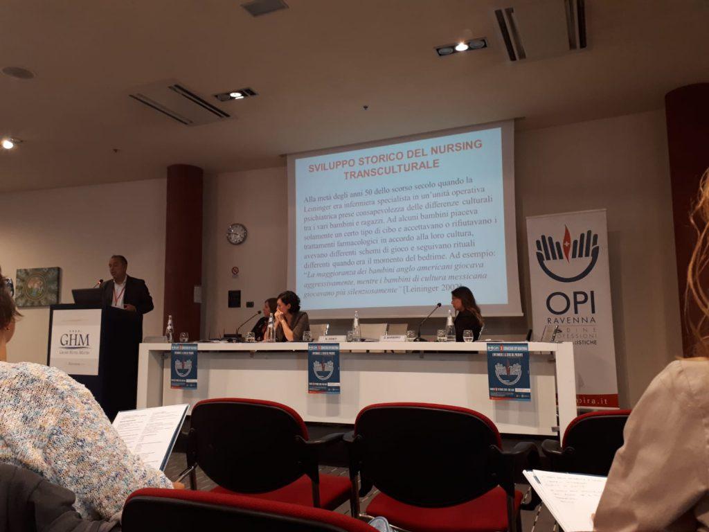 Nicola Ippolito, Infermiere dell'emergenza parla di assistenza transculturale.