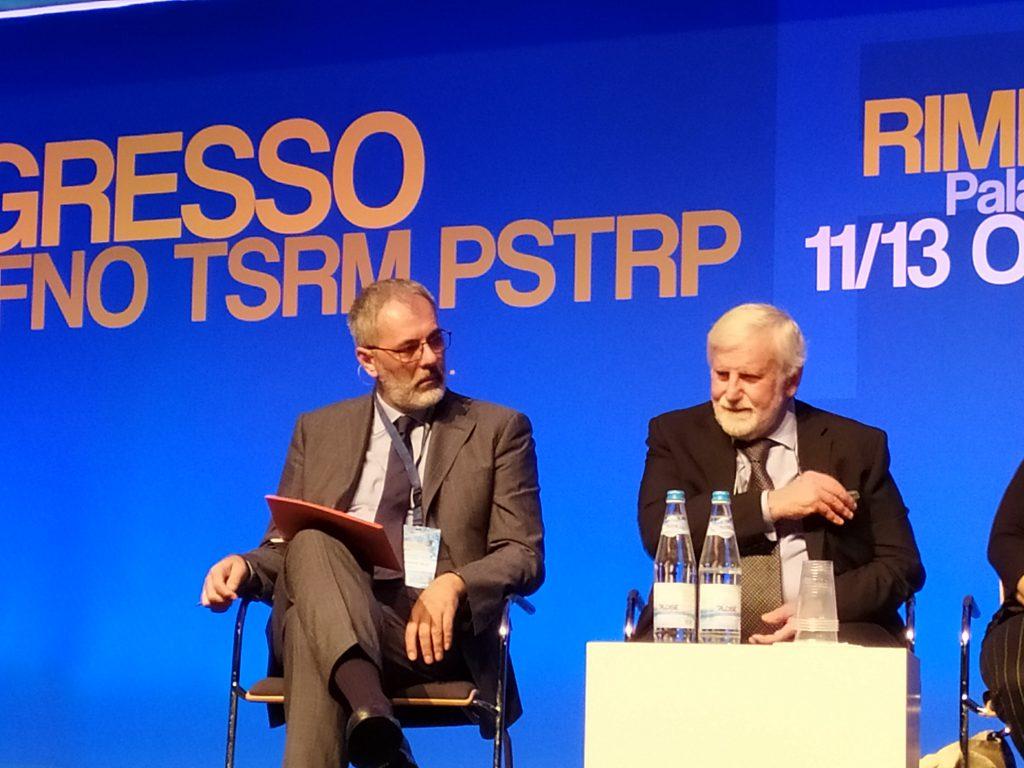 Alessandro Beux a sinistra, Saverio Proia a destra.