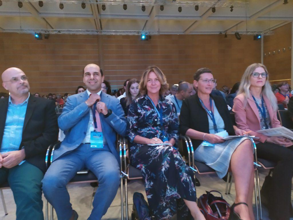 Presente all'incontro anche l'ex-ministro della Salute Beatrice Lorenzin. Grazie a lei sono nati gli ordini delle professioni sanitarie.