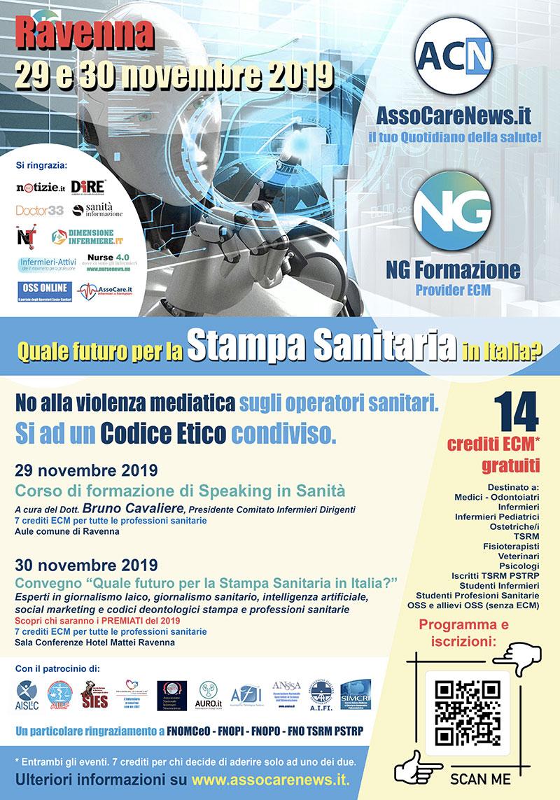 Quale futuro per la Stampa Sanitaria in Italia? Verso un codice Etico Condiviso.