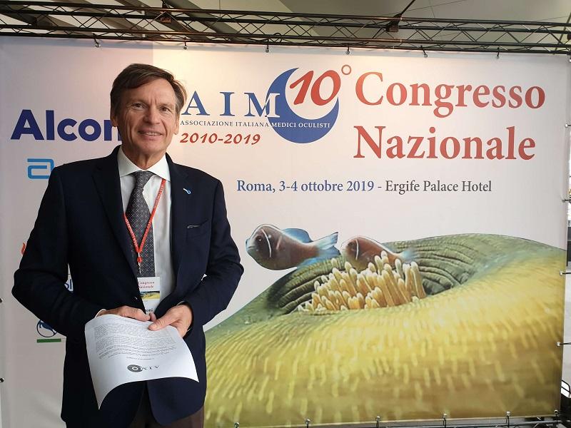 AIMO: medici oculisti a Congresso a Roma!