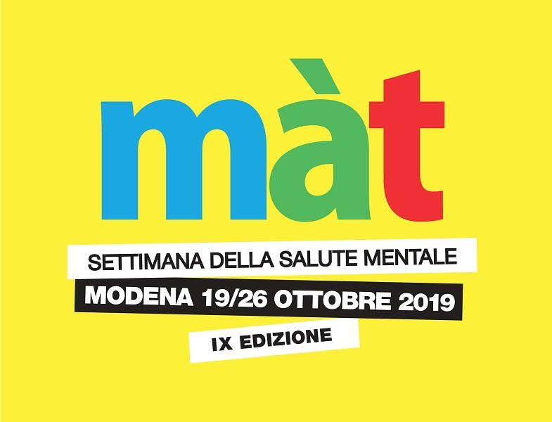 Màt: a Modena la settimana della Salute Mentale!