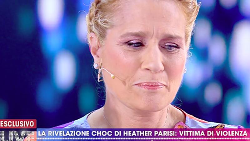 Heather Parisi picchiata in casa per 7 anni. Non ha mai avuto il coraggio di denunciare.