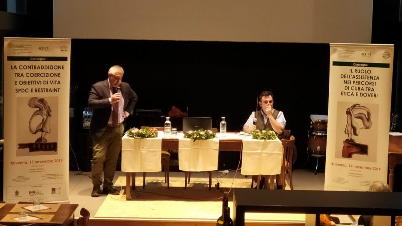 Esperti di Psichiatria dicono no alle contenzioni: a Ravenna due eventi per i 40 anni di apertura mentale.