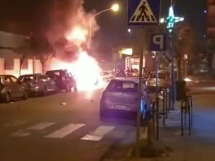 Esplosione: 4 vigili del fuoco e 4 poliziotti feriti!
