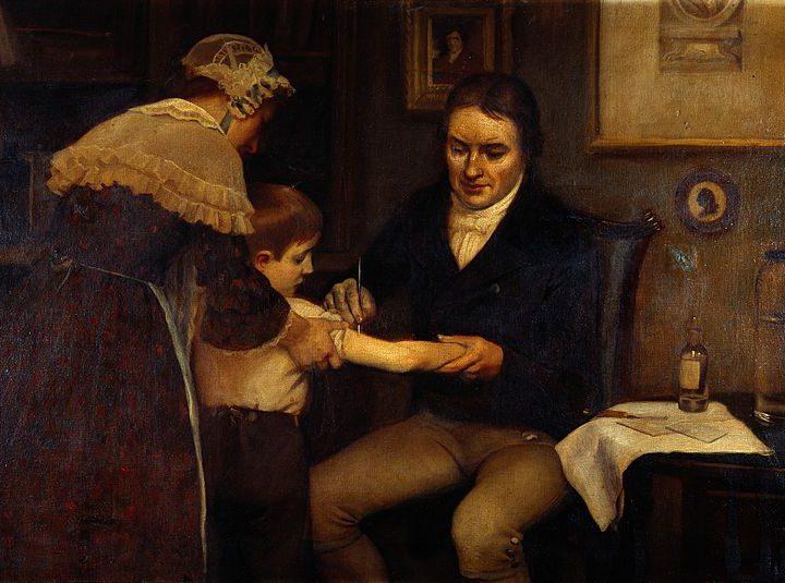 Primo vaccino scoperto nel 1796 e la ricerca va avanti.