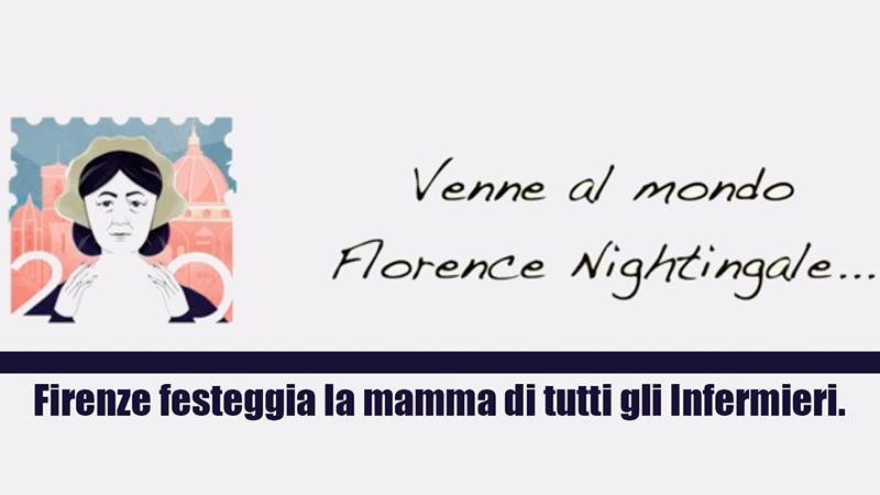 #Florence2020: a Firenze si festeggia la mamma di tutti gli Infermieri.