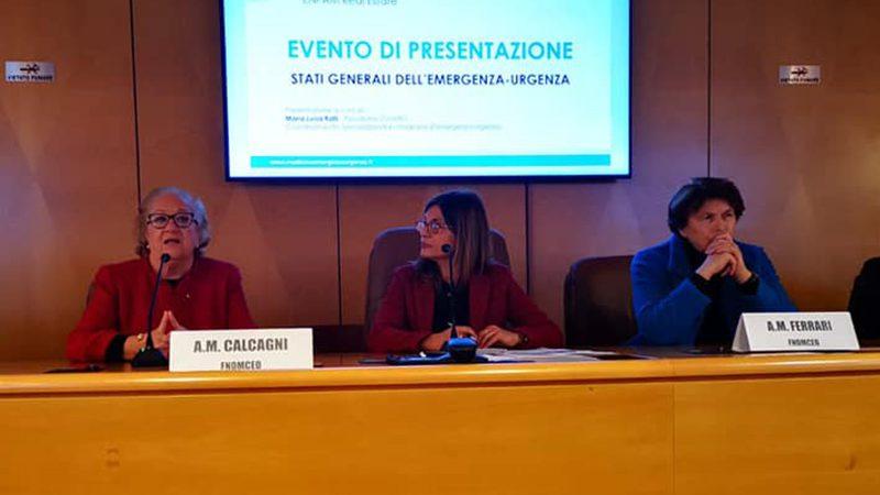 Verso gli Stati Generali dell'Emergenza-Urgenza in Italia: Medici, Infermieri e Soccorritori a confronto.