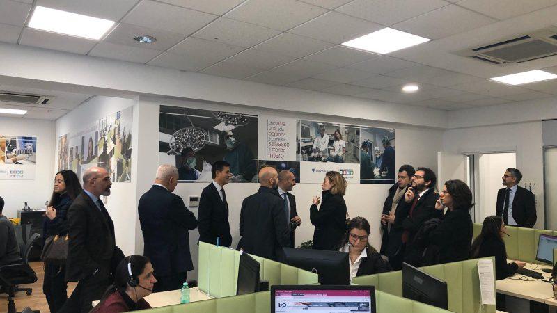 Ospedale Israelitico di Roma: inaugurato il CUP Contact Center 2.0.
