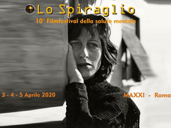 Decima edizione dello Spiraglio, Filmfestival della salute mentale in Italia.