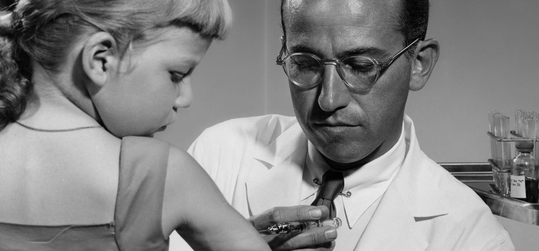 salk, vaccino, poliomelite