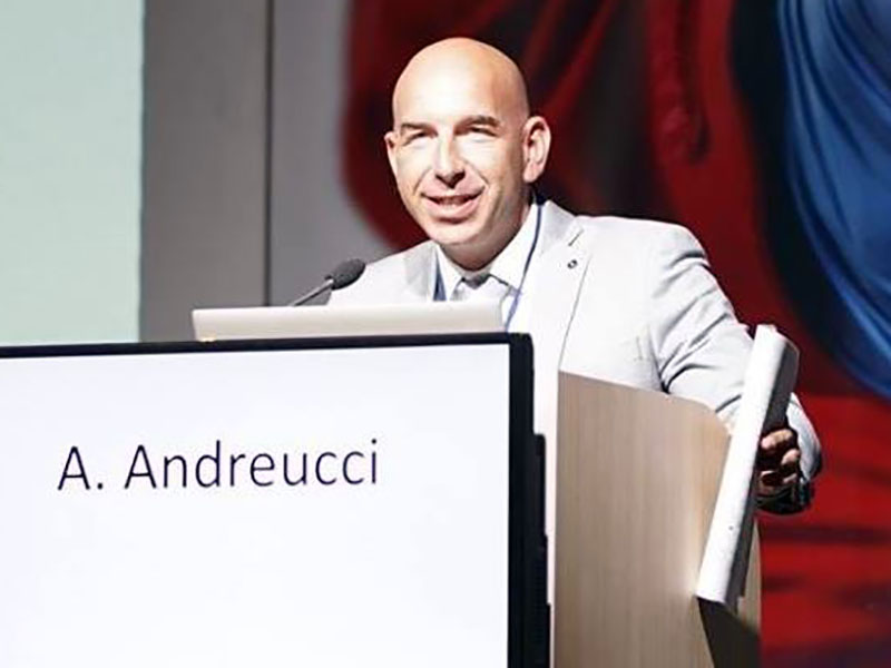 Andrea Andreucci, co-direttore scientifico dell'evento targato Format.