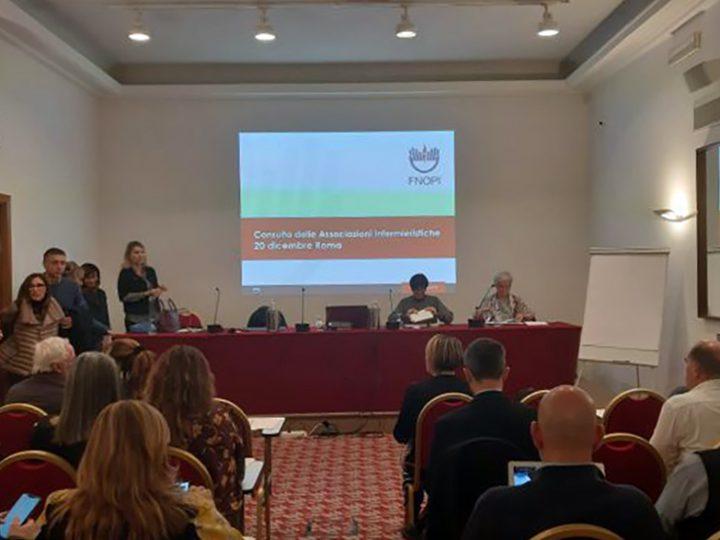 Infermieri: bene il confronto a Roma tra associazioni, società scientifiche e FNOPI.