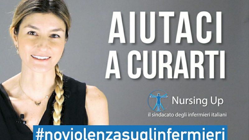 L'influencer Maria Vittoria Cusumano dice no alla violenza contro gli Infermieri.