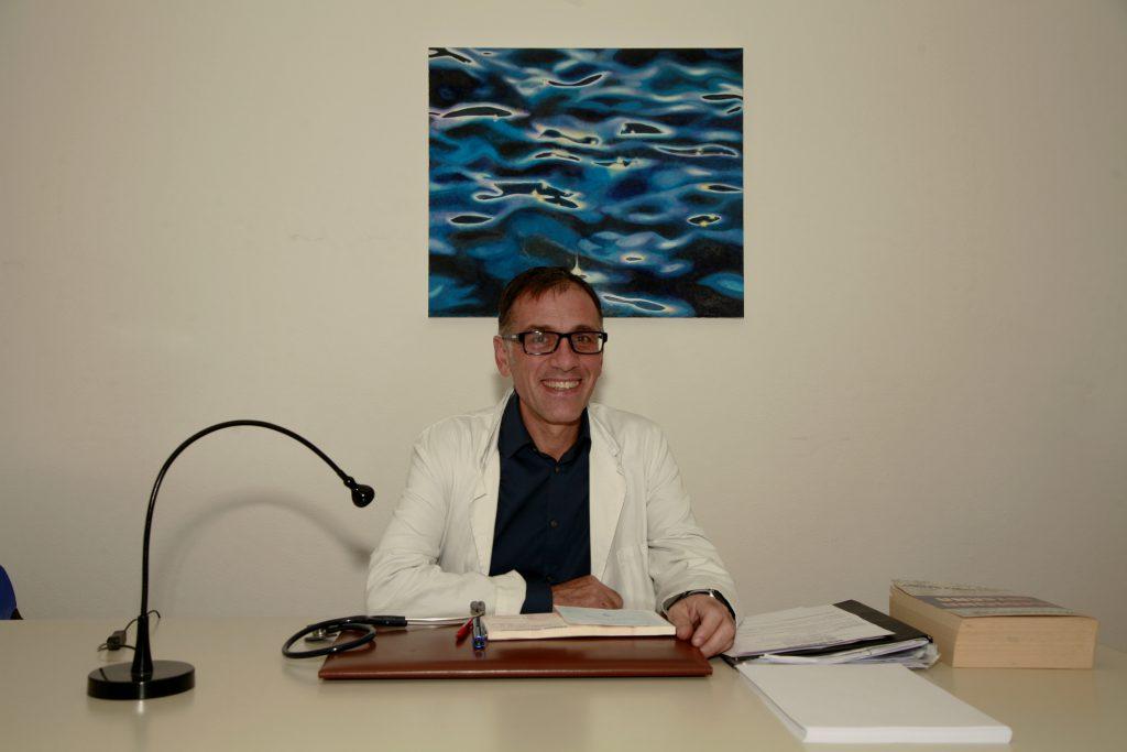 Il dott. Foschi dell'AUSL Romagna.