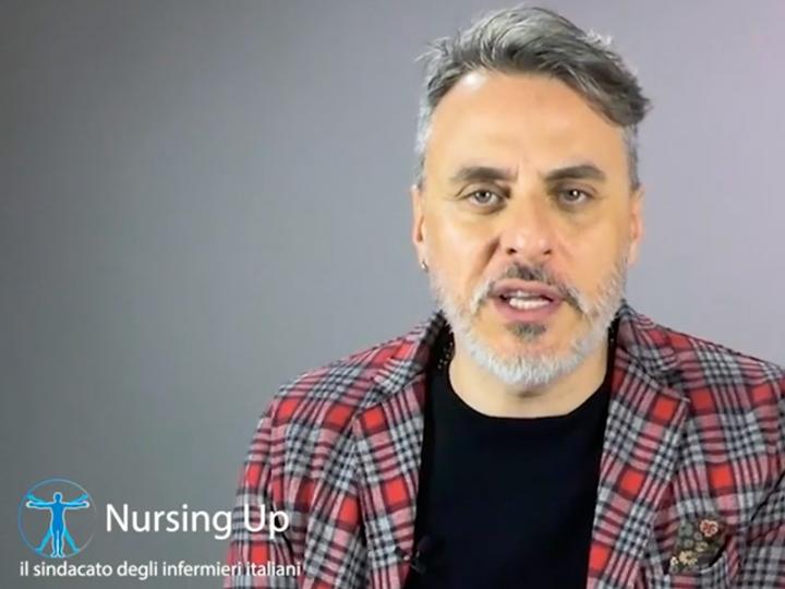 No alla violenza contro gli Infermieri: scende in campo l'attore Massimiliano Vado per Nursing Up.