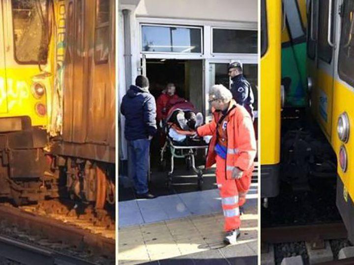 Scontro tra treni a Napoli, Medici e Infermieri del 118 fanno di tutto per salvare vite umane.