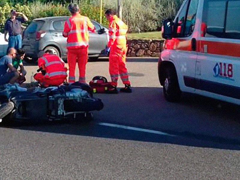 """Infermiere del 118 costretto a cateterizzare in emergenza suo padre dopo incidente in moto: """"è stato terribile""""."""