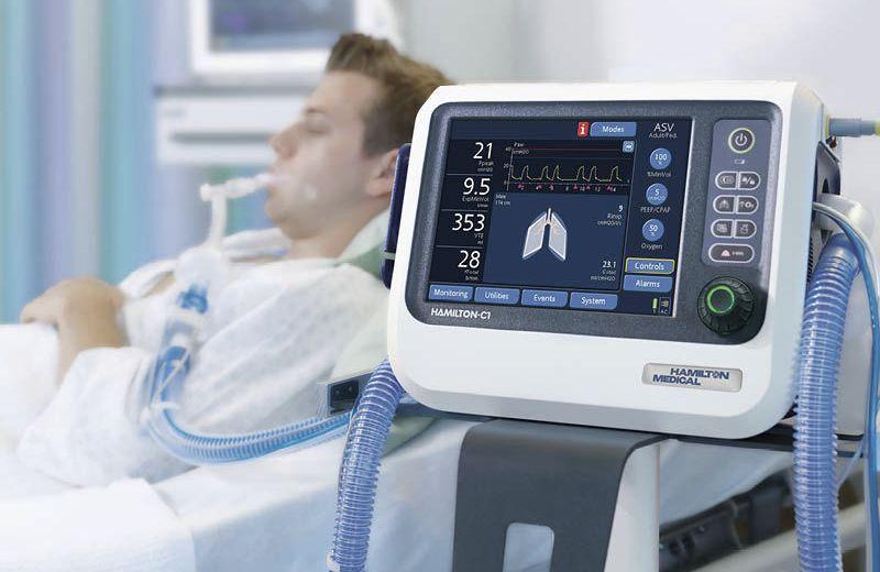 ventilazione. monitor, rianimazione