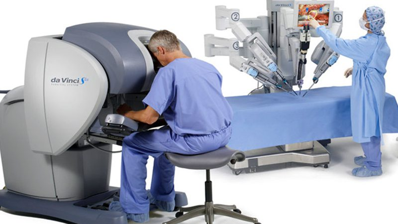 Management della persona con Cancro alla prostata e benefici della chirurgia robotica.