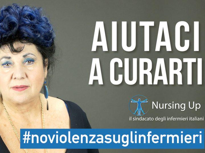 Marisa Laurito testimonial di Nursing Up: basta violenza contro gli Infermieri.