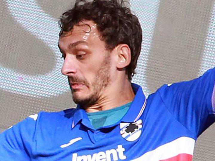 Coronavirus. Dopo Rugani della Juventus, ora è positivo Gabbiadini della Sampdoria.