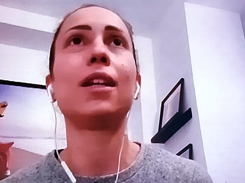 Silvia Giulianelli, Infermiera della Rianimazione di Pesaro.