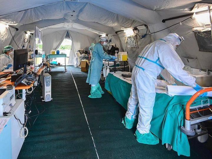 Coronavirus Italia: 8165 morti, 62013 contagiati, 10361 guariti. Curva contagiati torna a crescere.
