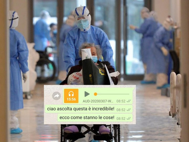 Coronavirus: pericolo audio fake su Whatsapp, Telegram e Messanger!