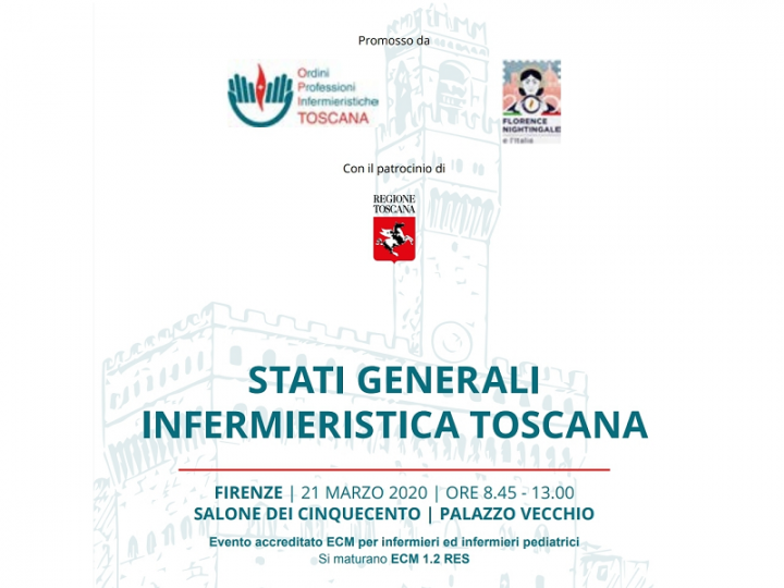 Stati Generali Infermieristica Toscana: rinviata causa coronavirus!