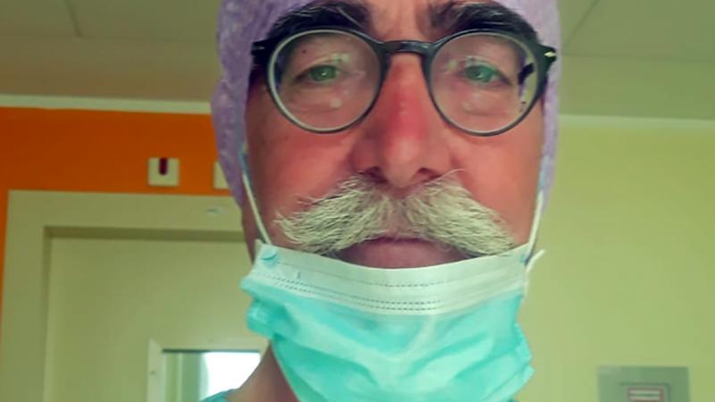 """Coronavirus. Filippo, Medico della Protezione Civile: """"darò una mano ai colleghi di Rimini e sarò al servizio della nazione""""."""