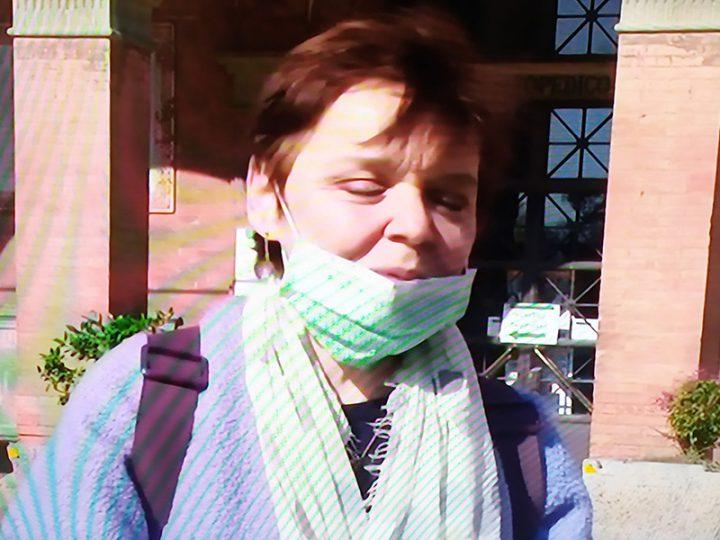 Coronavirus. Cristiana, l'infermiera che dà la comunione ai Pazienti affetta da Coronavirus.