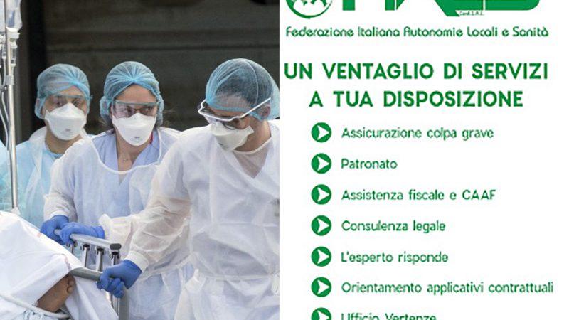 Coronavirus. Arriva l'assistenza fiscale gratuita a Bologna per Infermieri, Oss e Professioni Sanitarie.