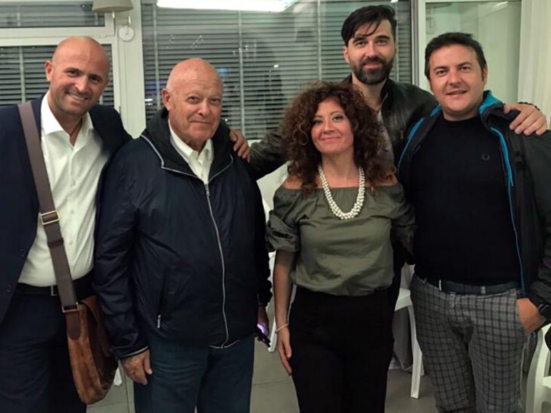 I Dirigenti della FIALS lucana con il segretario generale Giuseppe Carbone.