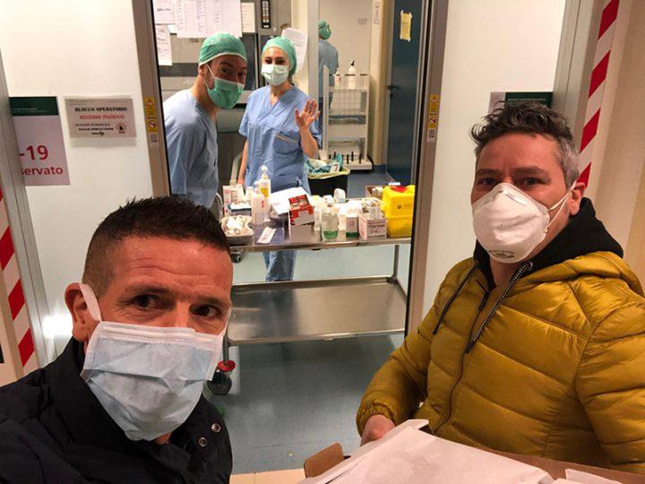 """Coronavirus. Astorino (Infermieri in Ordine – Bologna): """"offriamo un po' di relax e di sapori ai colleghi impegnati contro il COVID-19""""."""