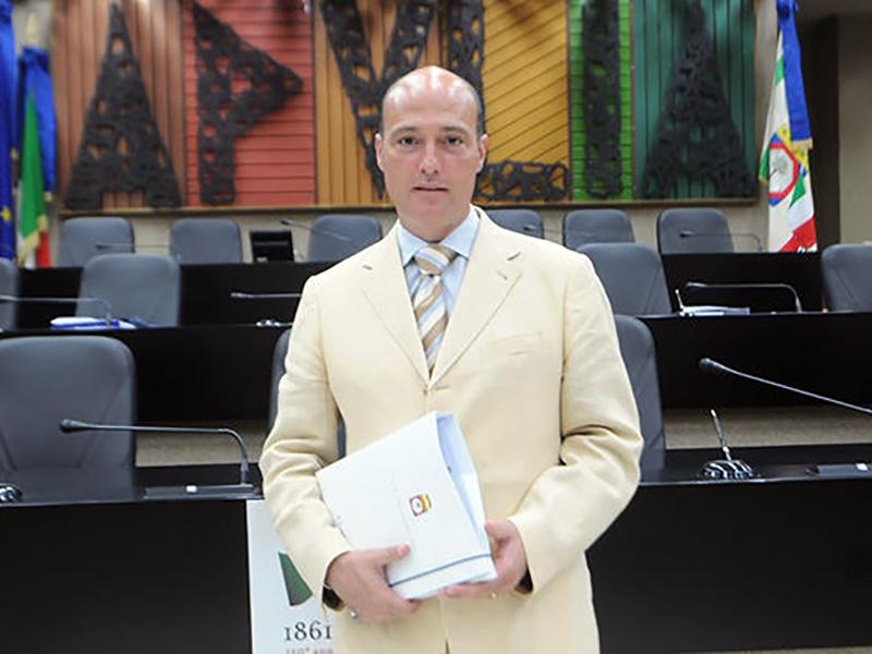 Mario Conca, consigliere regionale pugliese M5S.
