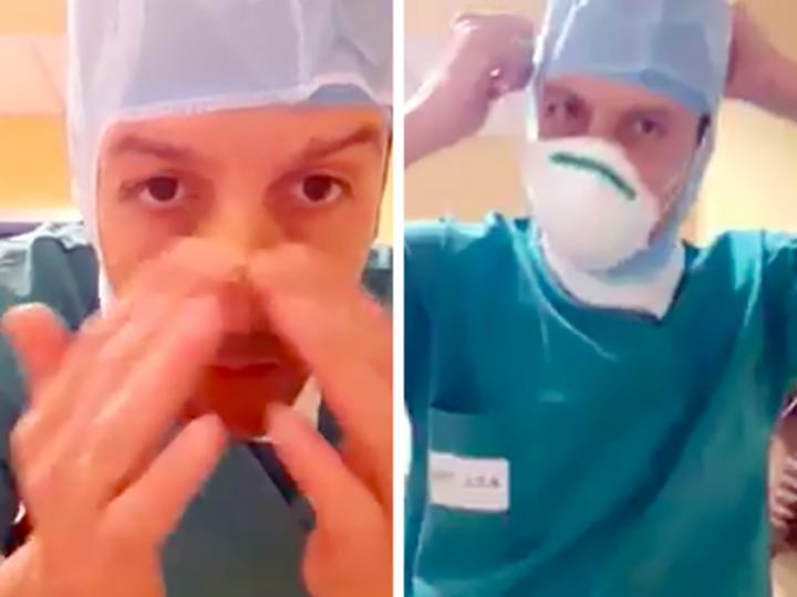 """Coronavirus. Mirko Lagotto, Infermiere: """"entro i Terapia Intensiva cantando 'Un senso' di Vasco Rossi""""."""