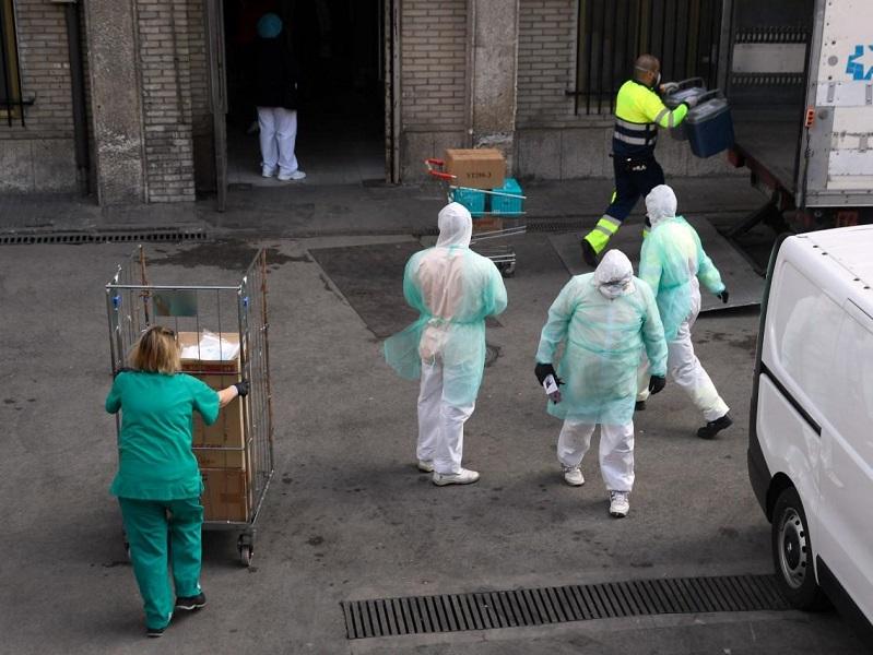 bollettino container coronavirus covid