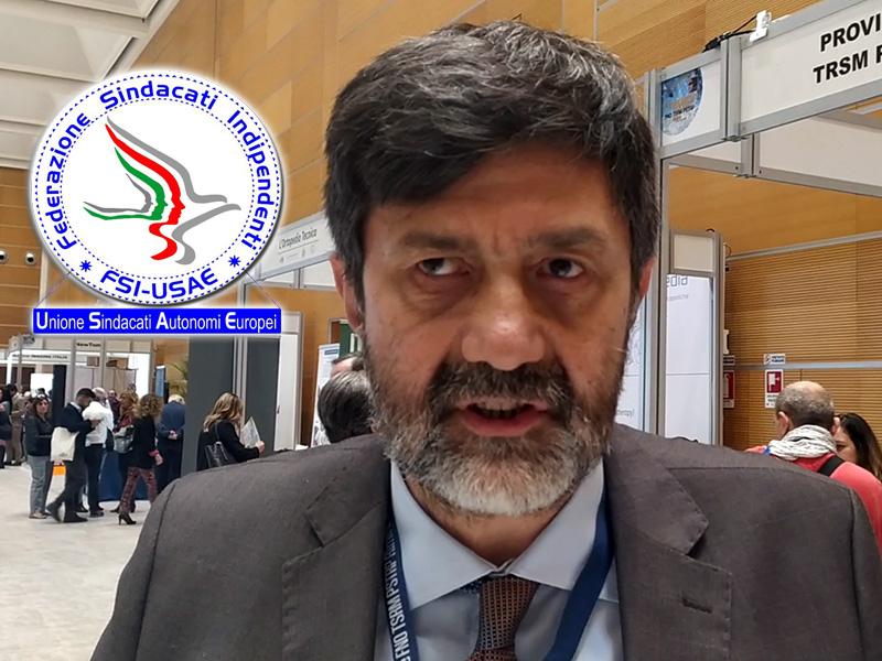 Adamo Bonazzi, segretario generale FSI-USAE.