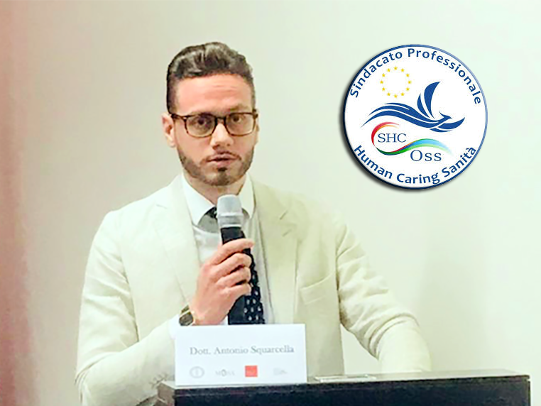 Antonio Squarcella, segretario SHC OSS Puglia.