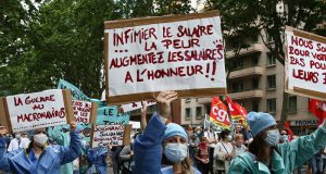 protesta francese